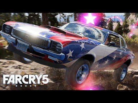FAR CRY 5 *NEW* CO-OP, FLYING A HELICOPTER & STUNT MISSION! | Walkthrough Gameplay (PS4 Pro)