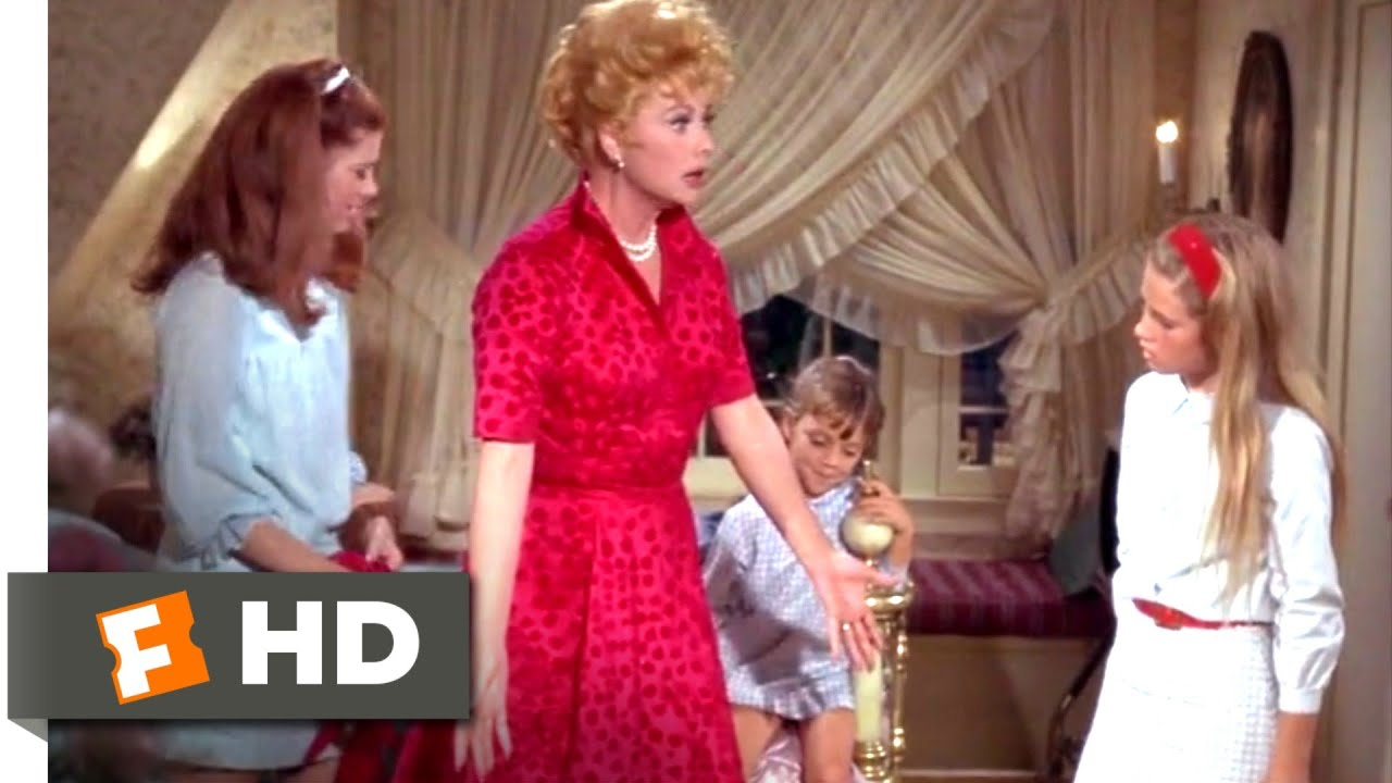 Yours, Mine and Ours (1968) - A Teenybopper Dress Scene (3/12) | Movieclips