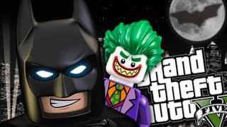 GTA 5 Mods - ROBLOX BATMAN MOD w/ EVIL VILLAINS (GTA 5 Mods Gameplay)