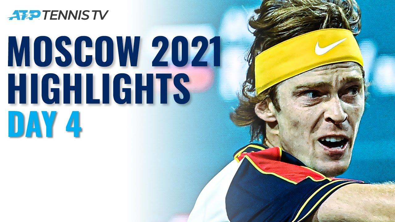 Rublev Takes On Mannarino; Karatsev vs Gerasimov & Simon vs McDonald | Moscow 2021 Highlights Day 4