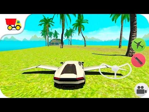 Flying Car Free: Extreme Pilot - Kids Car Games
