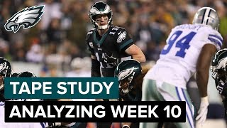 Tape Study: Analyzing The Film From Week 10 | Eagles Game Plan