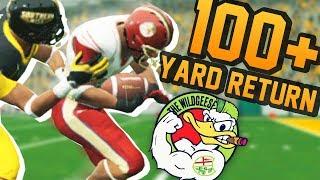 Longest Kick Return EVER // Wild Geese // NCAA 14 Team Builder Dynasty Ep. 9