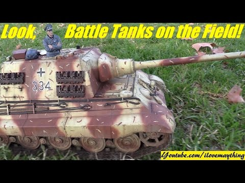 RC TANKS! Remote Control TANKS. WWII Tanks and Modern Day Battle Tanks Collection