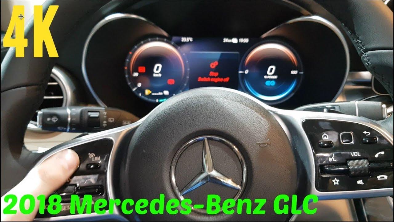 2019 Mercedes-Benz GLC: Facelift, Interior, Updates >> 2019 Mercedes Benz Glc C Class Facelift Interior 4k