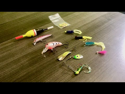 Tackle Tip Tuesday - Top 10 Crappie Fishing Lures