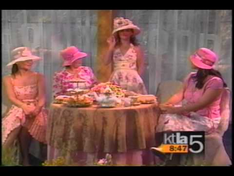 KTLA Morning News Tea Party