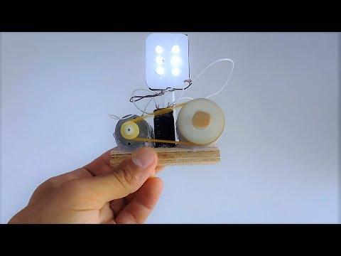 Free energy generator light blubs