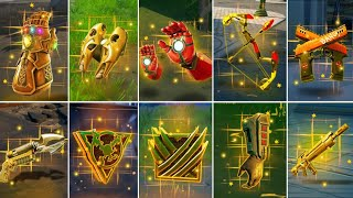 Evolution of All Mythic Weapons, Items & Bosses - Fortnite Chapter 1 Season 1 to Chapter 2 Season 7