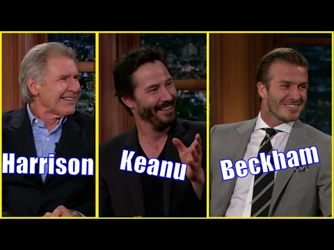 6 Males - Guests Who Appeared Only Once #1 - Harrison Ford, Keanu Reeves, David Beckham & More