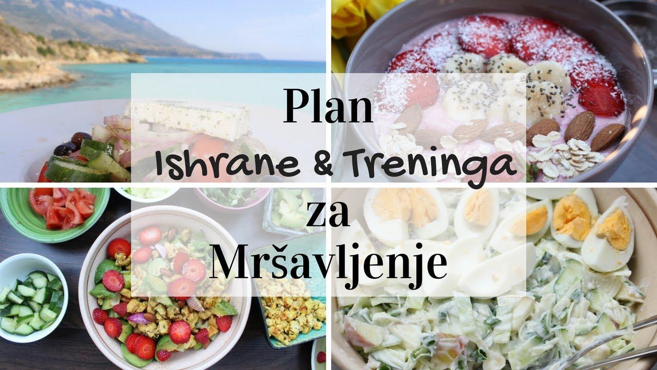 dijeta za mrsavljenje plan ishrane