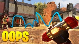 LUCKIEST ACCIDENTAL Grenade EVER!! - NEW Apex Legends Funny & Epic Moments #124
