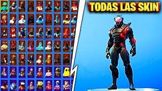 *209 SKIN* ALL MY SKIN LEGENDARY, EPIC, FREE AND SECRET IN FORTNITE