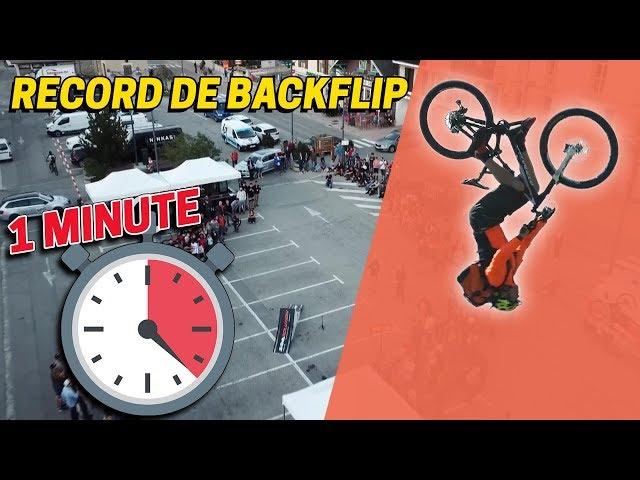 DÉFI : FAIRE UN MAXIMUM DE BACKFLIP EN 1 MINUTE !