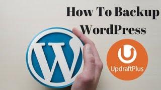 How to Backup WordPress Website - Updraft Plus [AskJoyB]