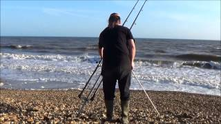 Fishing Brighstone Grange. Isle Of Wight 16/5/2015 UK sea / Shore Fishing.