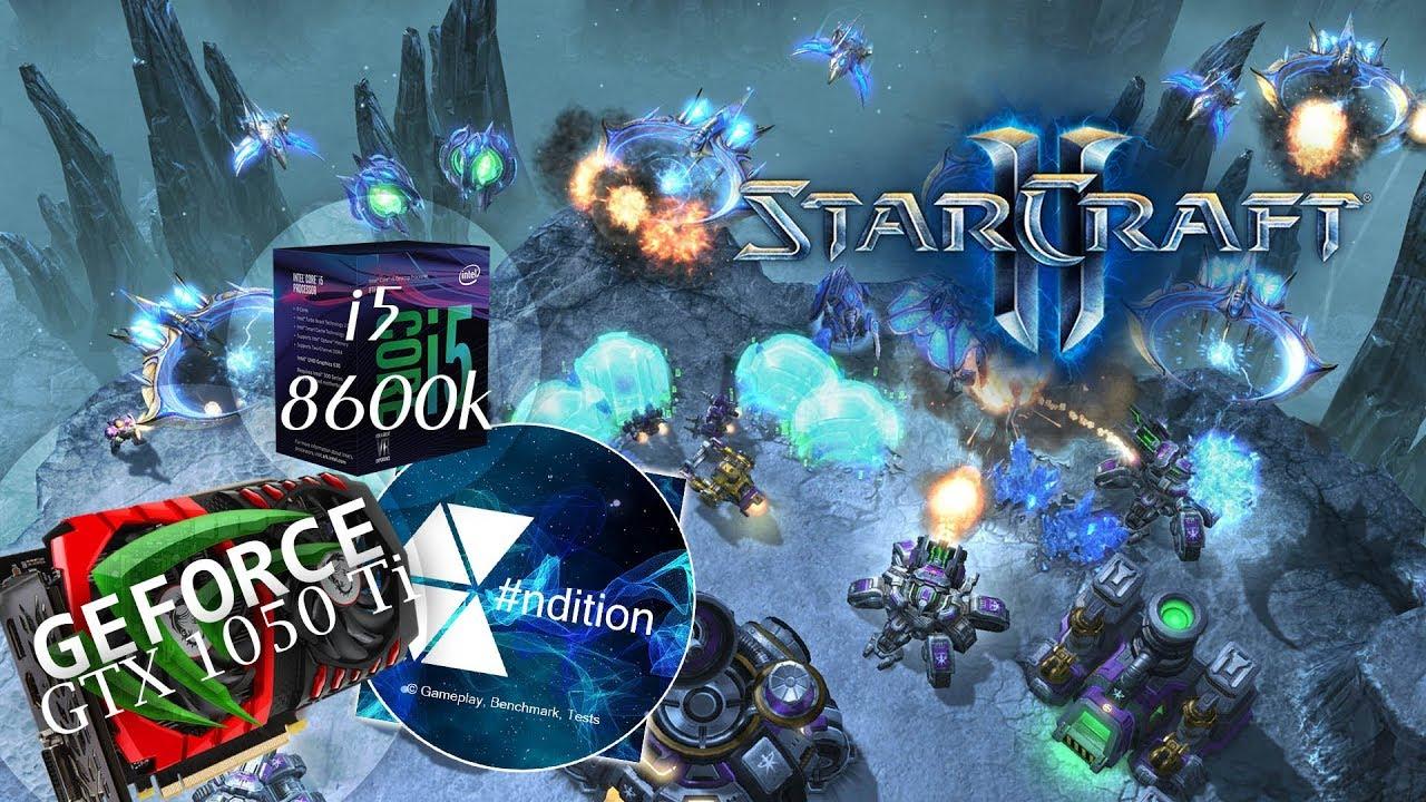 Starcraft 2 | i5 8600k | GTX 1050 Ti 4 GB | FPS graph
