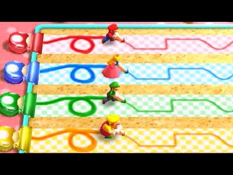 Mario Party: The Top 100 - All Mario Party 4 Minigames