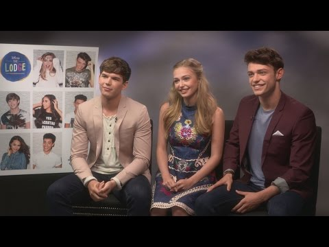 The Lodge: Thomas Doherty, Sophie Simnett & Luke Newton on being Disney's newest stars