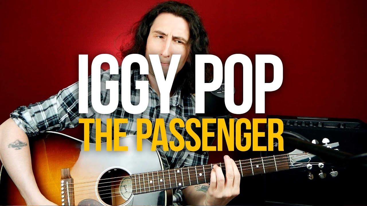 Как играть Iggy Pop The Passenger на гитаре [простой разбор для начинающих]