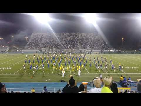 Miami Northwestern Mighty Marching Bulls halftime show vs. Miami Central pt. 1