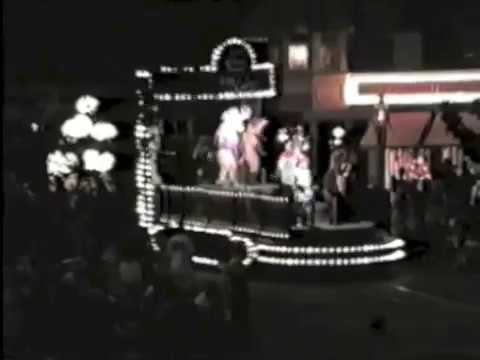 Or and Company pre parade float 1988