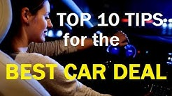 "TOP 10 CAR BUYING Tips - How to Buy an Auto & Get the BEST VEHICLE DEAL - ""13 Car Buying Mistakes"""