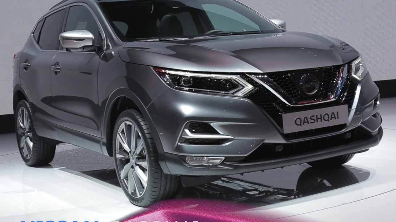 nissan qashqai en direct du salon de gen ve 2017 youtube