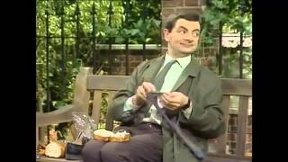 Mr  Bean -Sandwich for Lunch