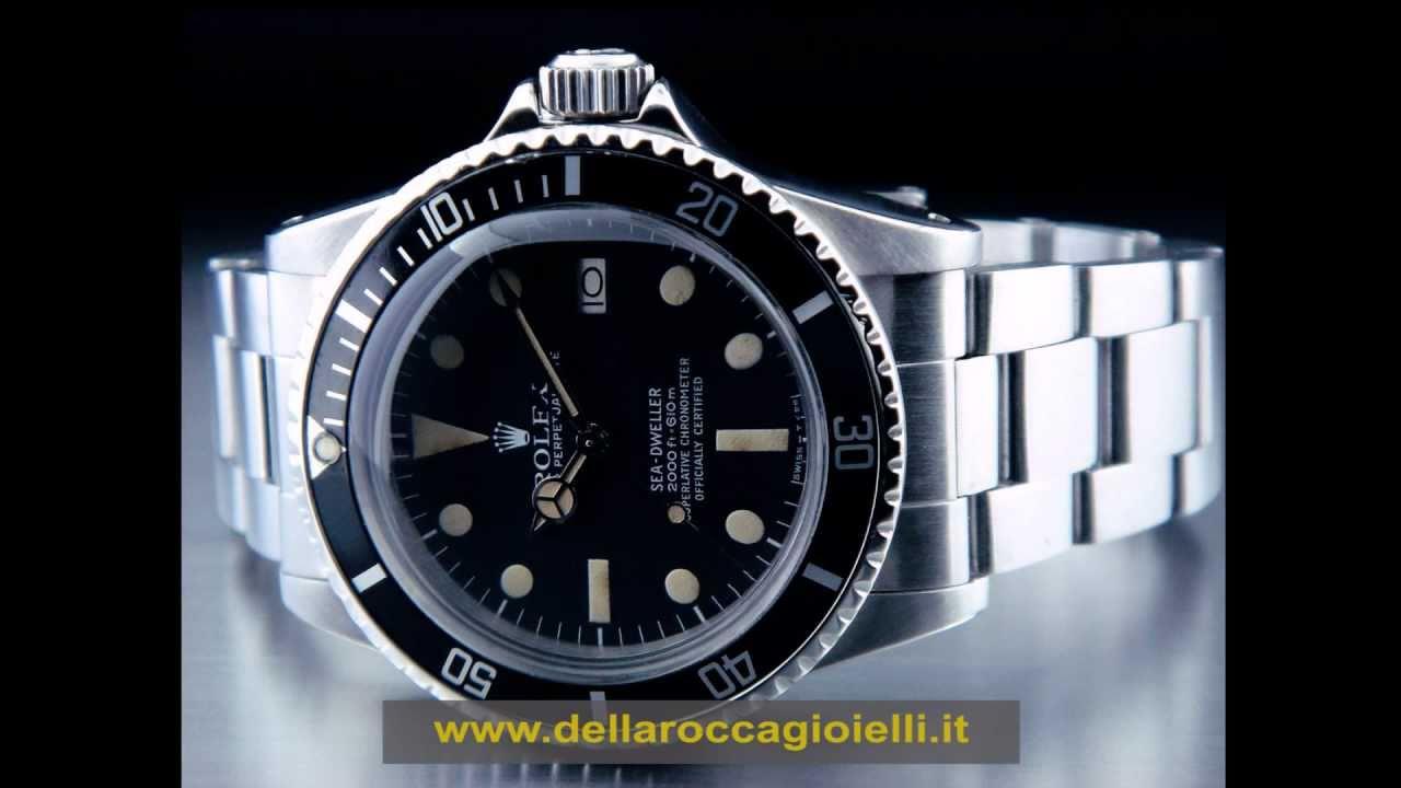 codice promozionale 9438f 91770 Sea Dweller Rolex Sea Dweller Prezzi Rolex Sea Dweller Usati Costo Rolex  Torino Rimini