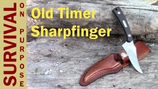 Schrade Old Timer Sharpfinger Review - Best Skinning Knife Under $20