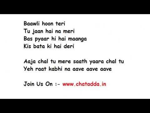 AKH LAD JAAVE Full Song Lyrics Movie – Loveratri   Badshah   Asees Kaur