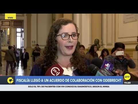 """Rosa Bartra critica acuerdo de colaboración con Odebrecht y lo llama """"contrato de impunidad"""""""