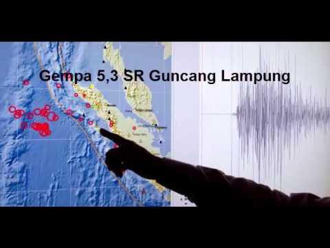 Gempa 5,3 SR Guncang Lampung Mp3