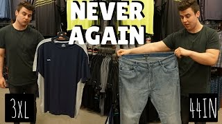 My Biggest Weightloss Victory | Big & Tall Store | LEAN SZN EP. 3