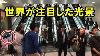 衝撃!日本のある光景を見た外国人が驚いた日本のすごいところ「日本は世界の模範だ!」自国との差に海外が唖然!【すごい日本】【海外の反応】