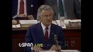 Australian Prime Minister Bob Hawke, US Congress, 23 June 1988