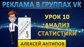 Урок 10. Анализ статистики группы Вконтакте