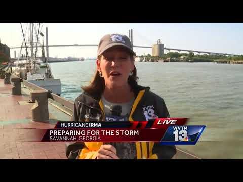 Savannah preps for Hurricane Irma