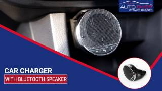 Car Charger With Bluetooth Speaker - PakWheels Accessories