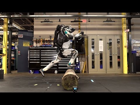 The News Junkie - Boston Dynamics Robot Does Parkour