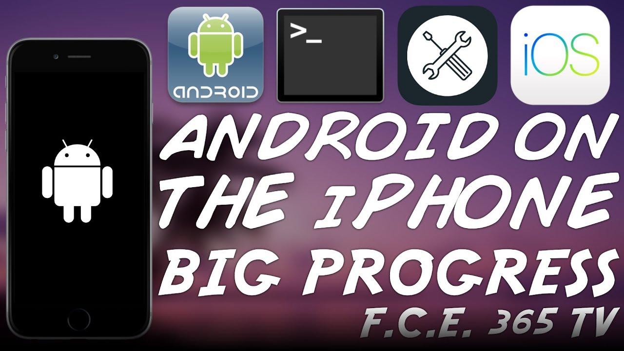 Installing Legit ANDROID on iPhone! - Big Progress (OpeniBoot / iDroid  UPDATE)