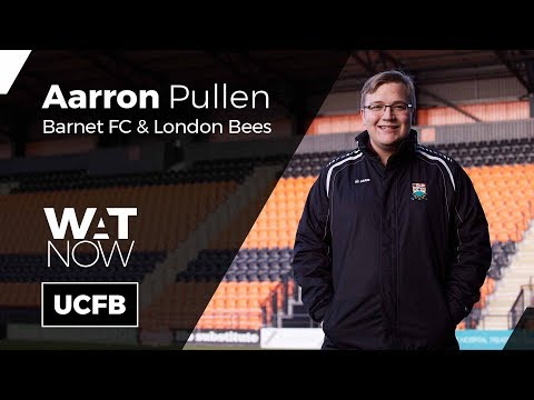 where-are-they-now?-|-aarron-pullen,-media-&-comms-officer-at-barnet-fc-&-london-bees-|-#watnow
