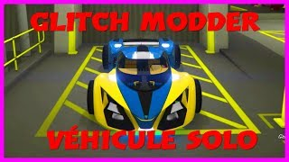 GTA 5 GLITCH SOLO MODDER CES VEHICULE + TRANSFER ROUES F1