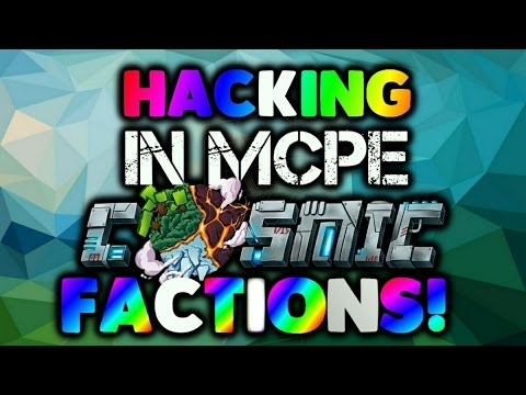 MCPE server hacking S6E7 HACKING IN COSMIC PVP FACTIONS