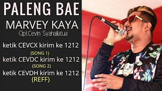 PALENG BAE - MARVEY KAYA (Official Music Video)