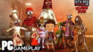 Zombie Zoid Zenith PC Gameplay(1080p/60fps).