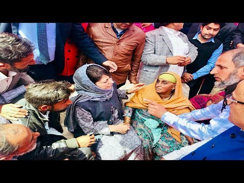 CM meets Poonch shelling victims; appeals PM to bring peace on border