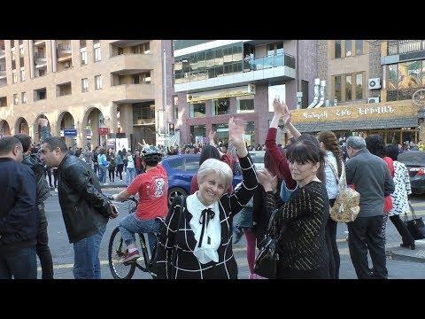 Yerevan, 23.04.18, Mo, Video-2, Or 11-rd, Tonakhndutyun!