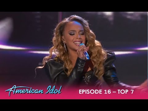 Jurnee: Opens The Show With Prince HIT Song Kiss  American Idol 2018
